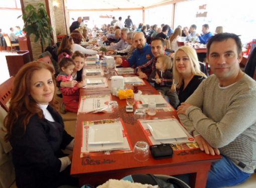 Karşıyaka Masterler Kahvaltıda
